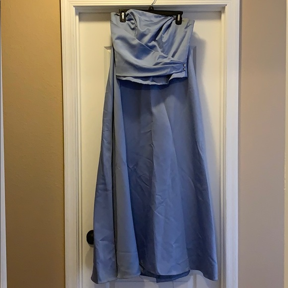 Dresses & Skirts - 2 Piece Strapless Perry-winkle Color / Baby Blue